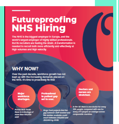 NHS recruitment
